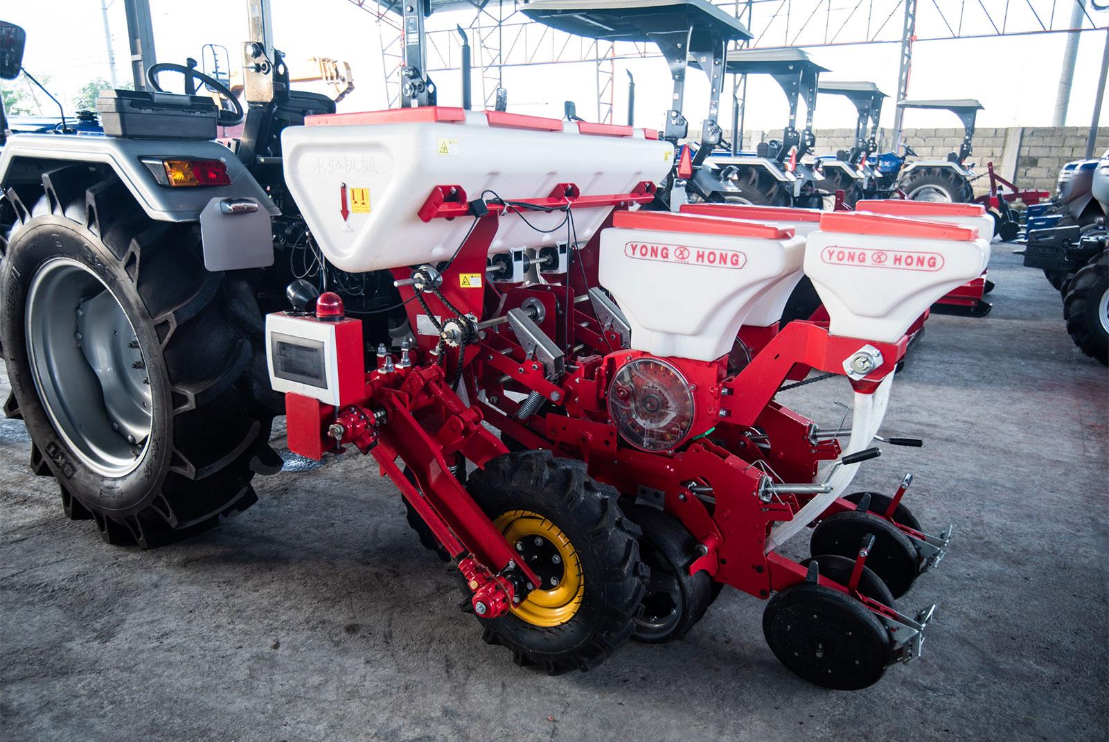 Pneumatic Corn Planter 2 Rows