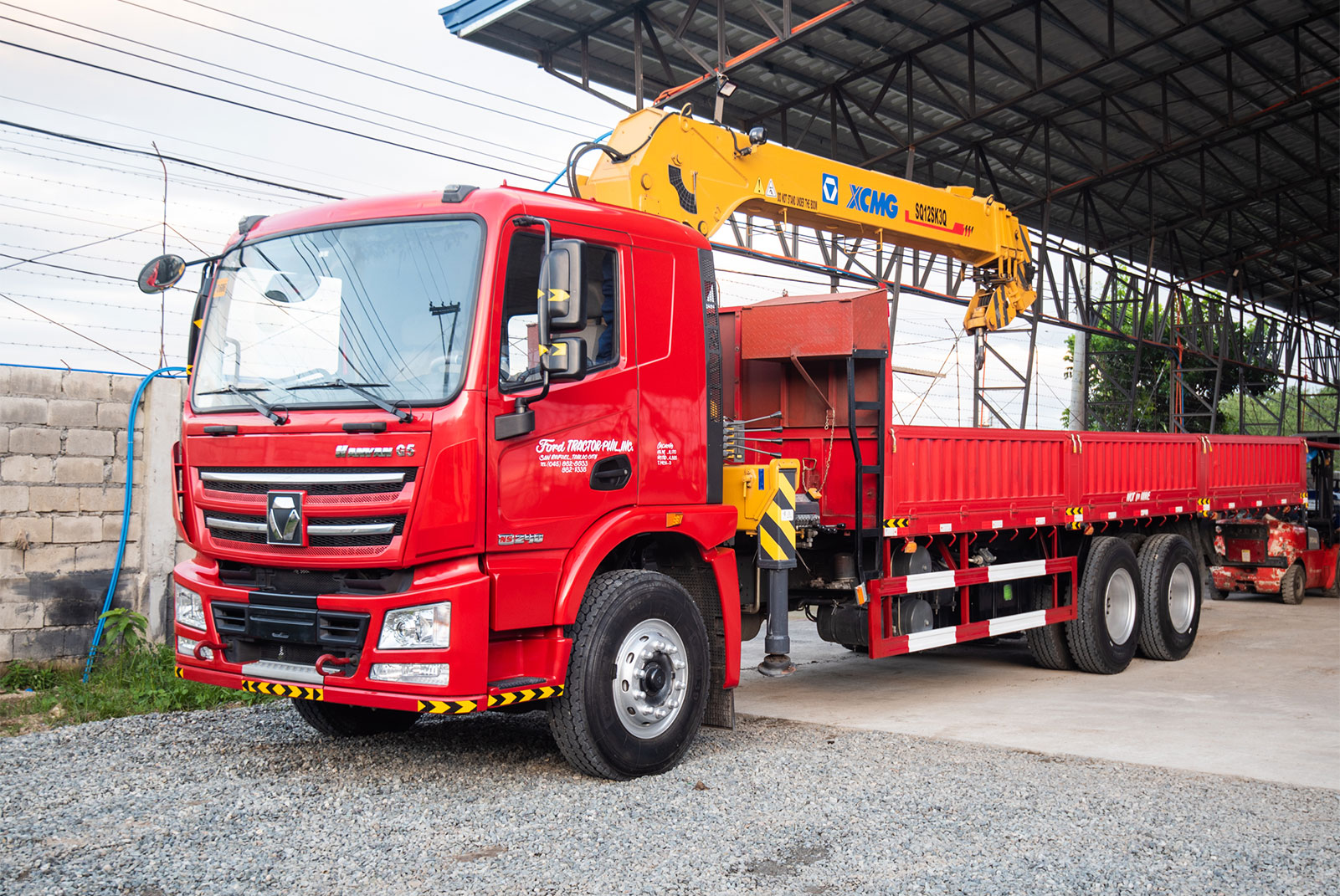 XCMG 10-Wheeler Truck